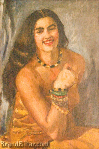 Amrita Sher-Gil Self-portrait