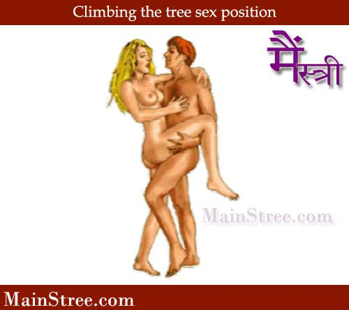 Climbing the tree sex position - Beautiful and rewarding positions in the Kama Sutra