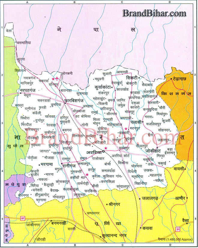 Panchayats of Araria In Araria District there are 9 Blocks