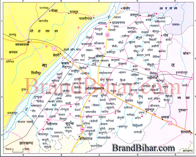 aurangabad-map
