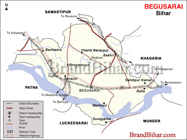 Worksheet. begusarai Map Map of begusarai Bihar begusarai District Map